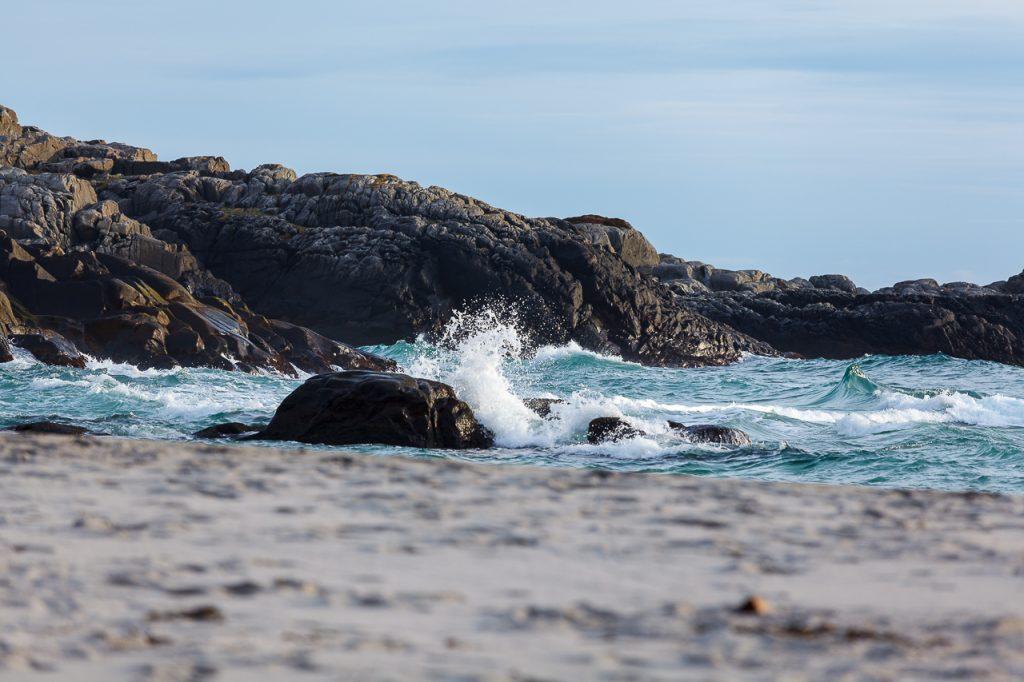 Bølger på Sandvesand