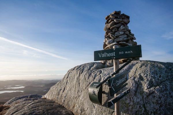 Toppen av Valhest