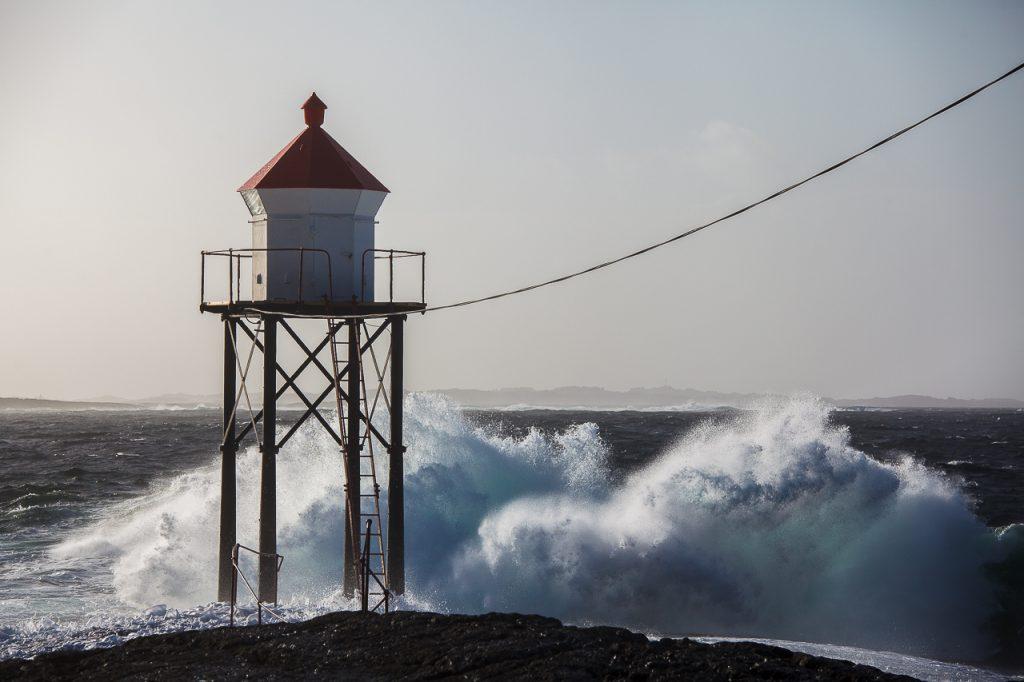 Lanternen ytterst på Kvalen, Haugesund