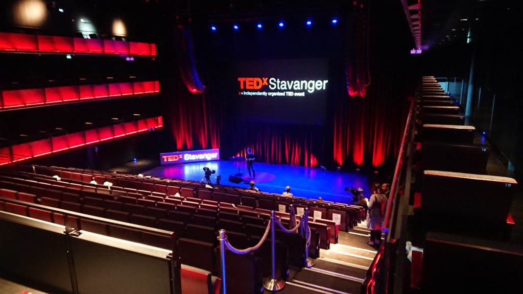 Hovedscenen under TEDx Stavanger